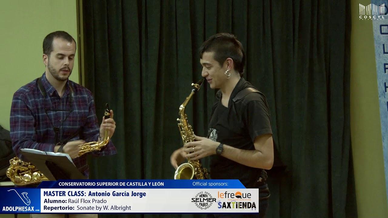 MASTER CLASS - Antonio Garcia Jorge - Raul Flox Prado (COSCYL)