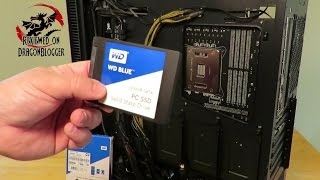 How to install the WD Blue 500GB SSD into your computer #WDBlueSSD