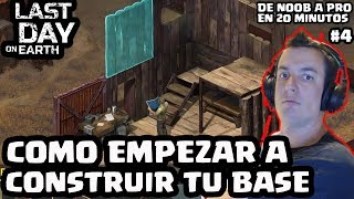 COMO EMPEZAR A CONSTRUIR TU BASE | LAST DAY ON EARTH: SURVIVAL | [El Chicha]