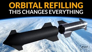 Starship Refilling in Orbit - This changes everything