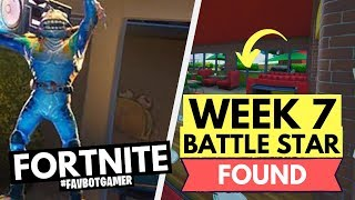 Fortnite Season 10 Week 7 Secret Hidden Battle Star