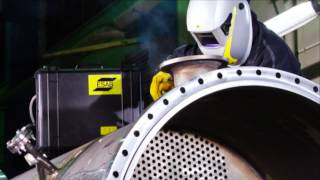 MIG MAG сварка(A presentation of the complete ESAB MIG/MAG range of welding equipment. Caddy®, Origo™ and Aristo® machines., 2013-09-26T11:24:39.000Z)