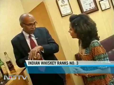 Amrut Fusion single malt whisky rated world's third best