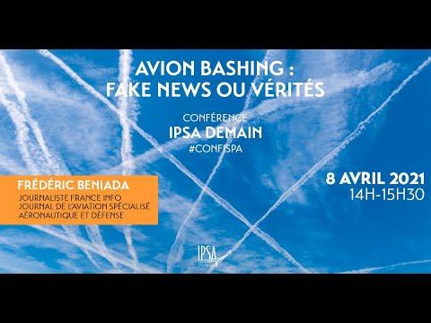 Avion-Bashing : fake news ou vérités | Frédéric Beniada | Conférence