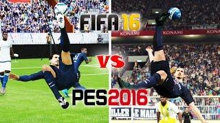 FIFA 16 vs. PES 16: Bicycle Kicks