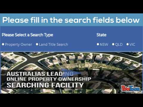 Land Registry Search