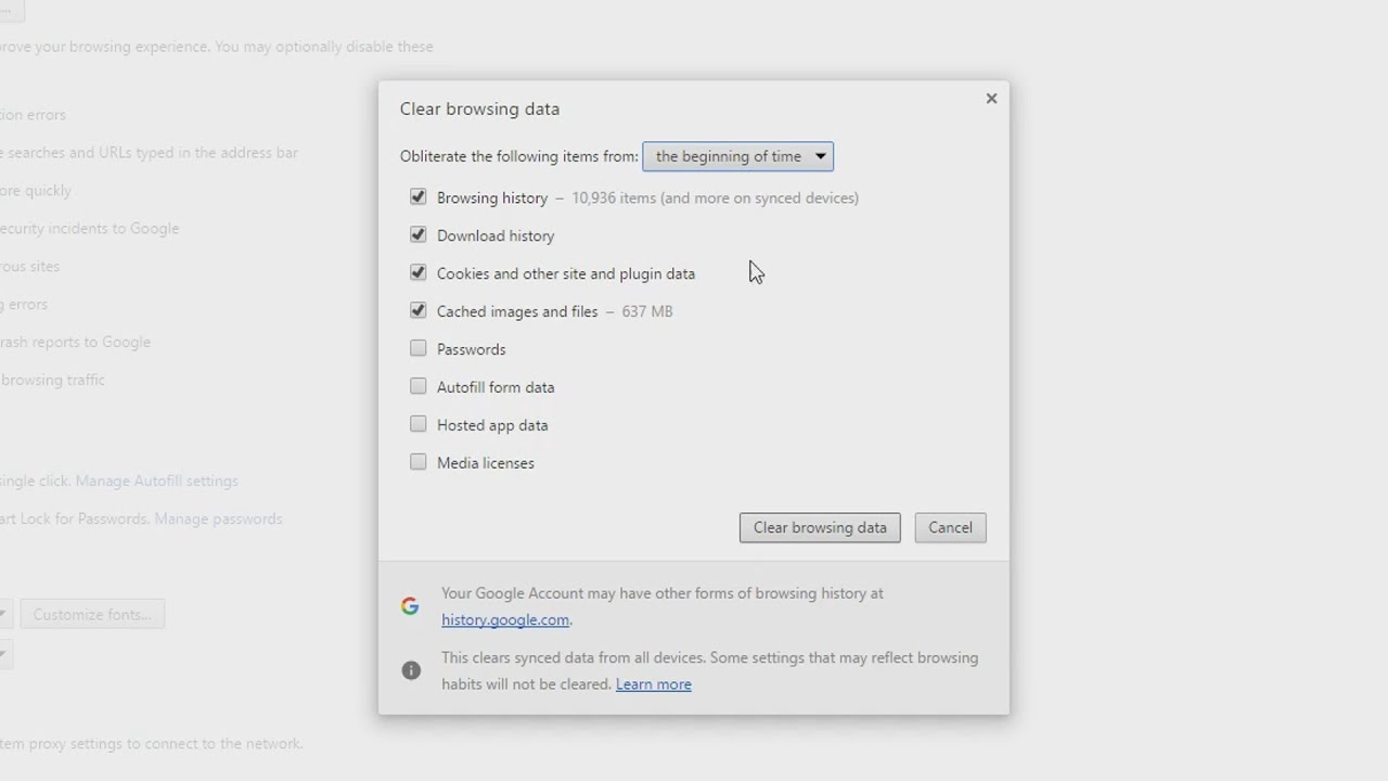 How To Delete Your Browsing History On Google Chrome! 2017