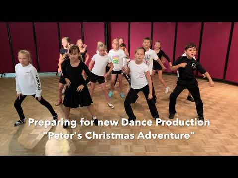Peter's Christmas Adventure Dance Production Ad