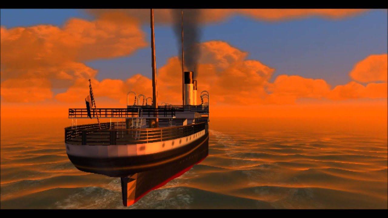 Rms Oceanic For Virtual Sailor And Vehicle Simulator Youtube