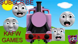 Wrong Heads Thomas And Friends Crying Face Swap Finger Family Nursery Rhymes Toby Ferdinand Rosie