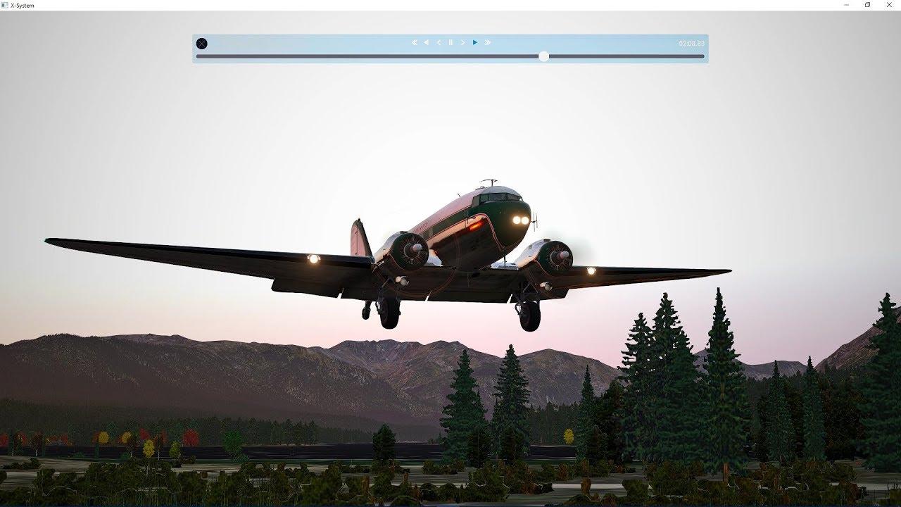 DC-3 Bush Flying X-Plane 11