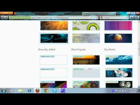 How to Change Your FireFox/Google Chrome Theme