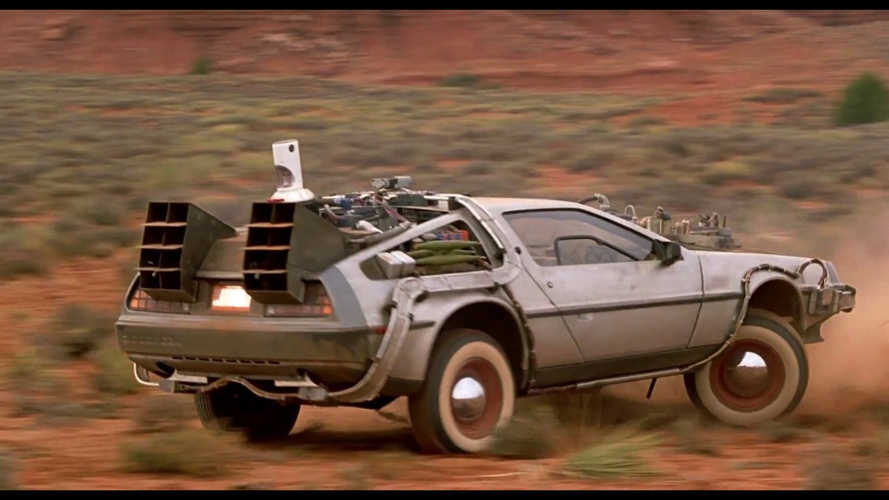 Image result for delorean back to the future