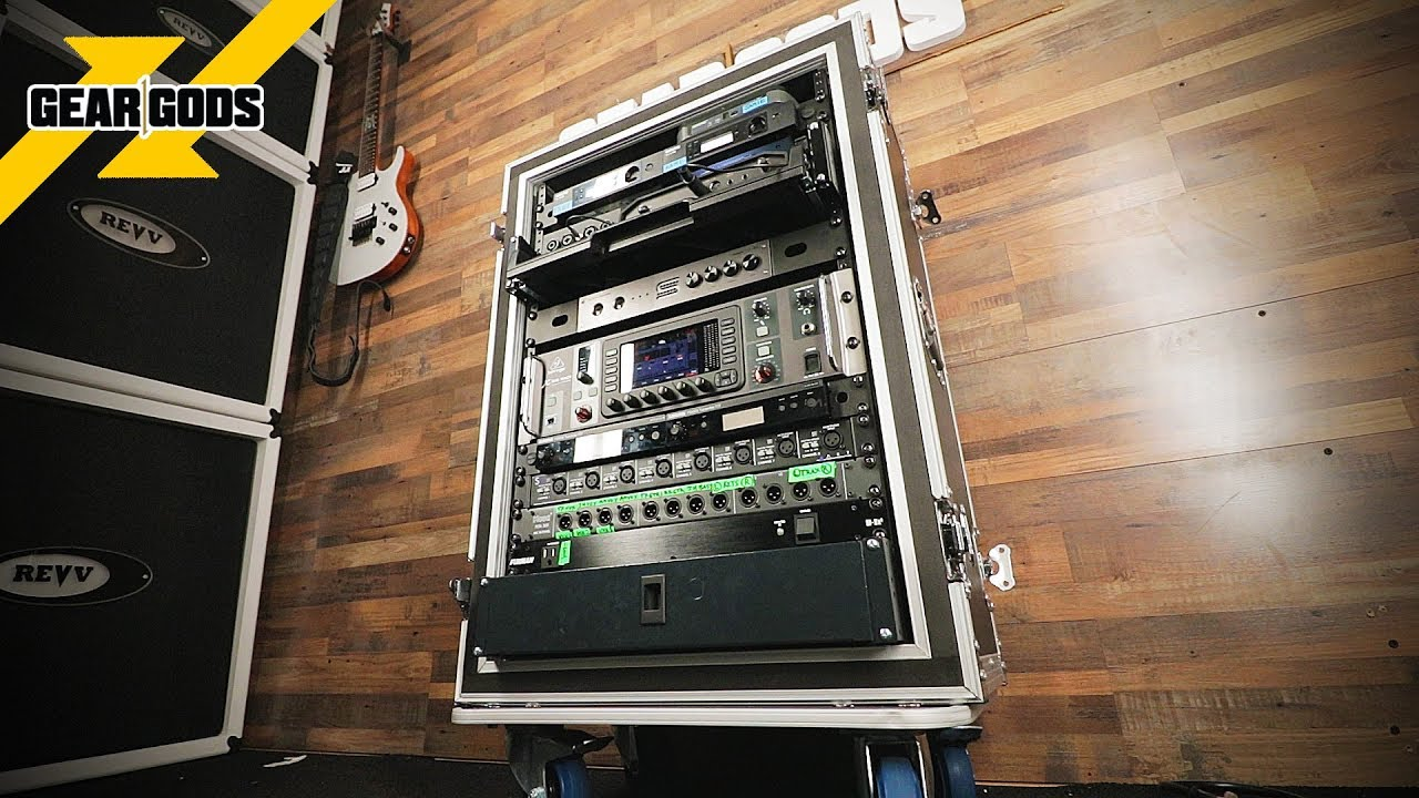 how to build an all in one rack for your band gear gods