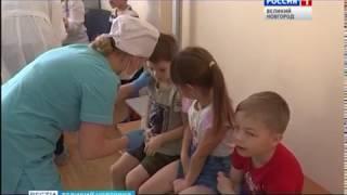 ГТРК СЛАВИЯ Прививки от гриппа в детском саду 17 10 18