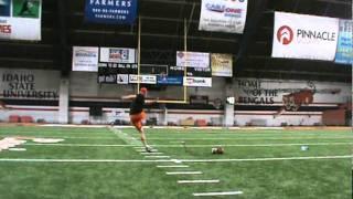 Dan Zeidman fg-38 yard left hash- 5 for 5