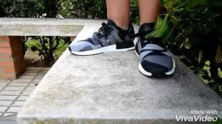 adidas nmd camo black on feet