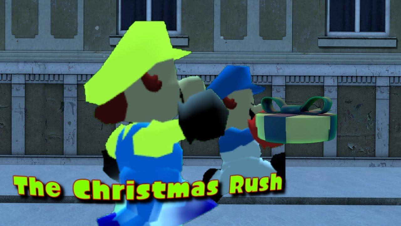 [Splatoon GMOD SM64] The Christmas Rush by Geofcraze634