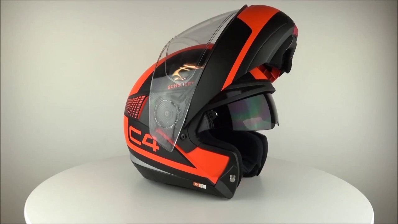 schuberth c4 legacy orange helmet. Black Bedroom Furniture Sets. Home Design Ideas