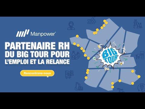 Manpower partenaire RH du Big Tour 2021