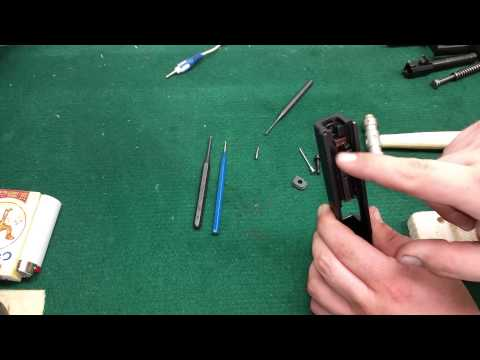 Pulling the firing pin out of your Springfield XD