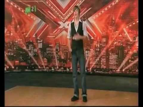 Liam Payne's first X Factor audition in 2008 (14 years old)