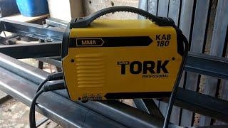 Teste da inversora de solda super Tork kab 180