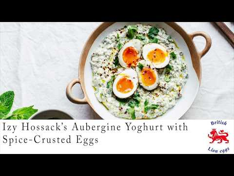 Aubergine Yoghurt with Za'atar-Crusted Eggs