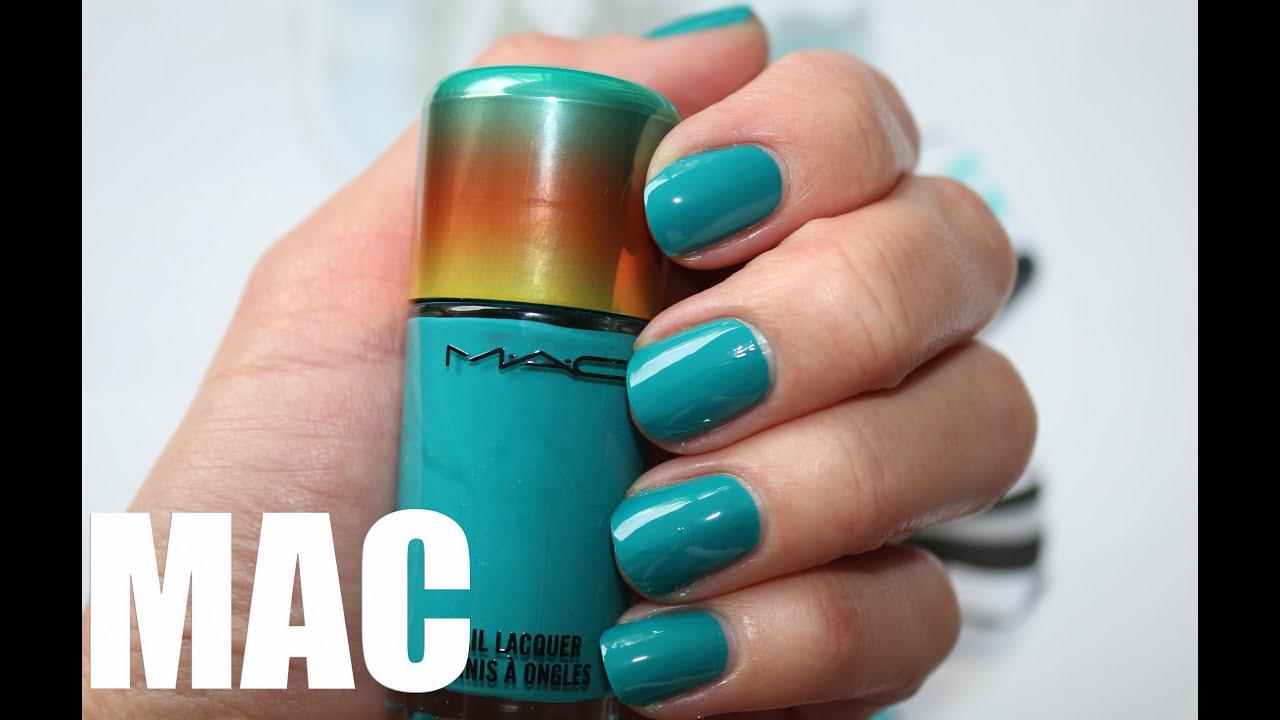 MAC Washeteria Summer 2015 - swatch and application - нанесение и ...