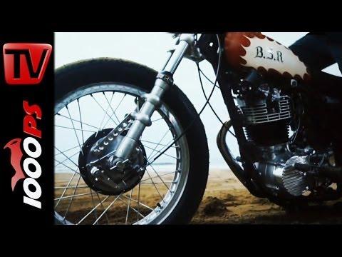 World Premiere | Yamaha SR 400 B.S.R 2014 Umbauten @Eicma 2013