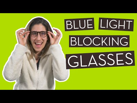 We Tried Blue Light Blocking Glasses and Here's…}