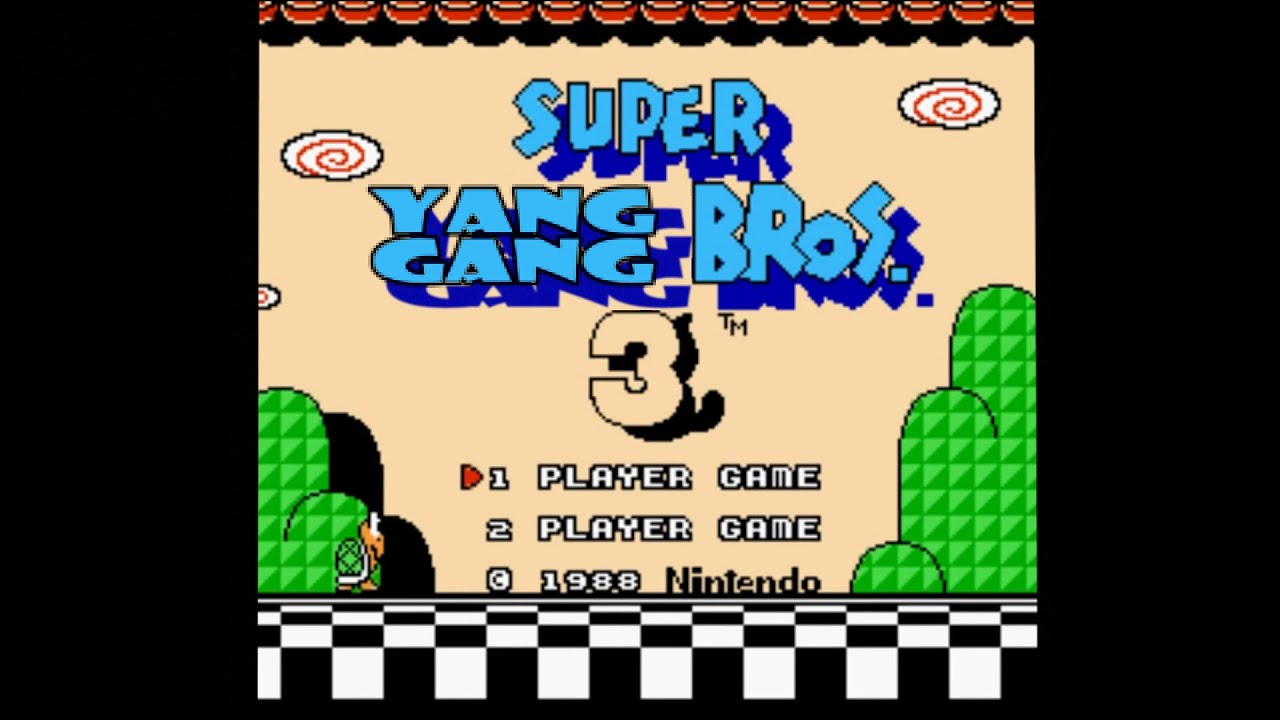 Super Yang Gang Bros 3   -     Andrew Yang 2020