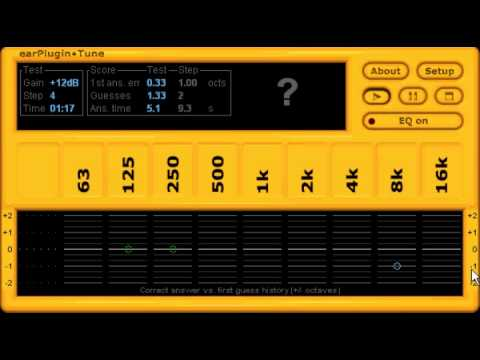 Free ear training VST plugin for sound engineers