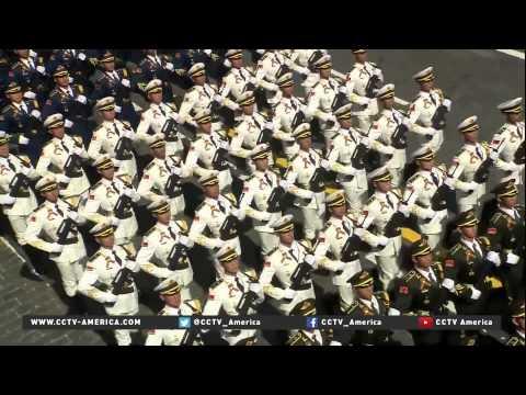 Chinese Guard of Honor displays discipline and spirit