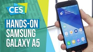 Hands-on Samsung Galaxy A5 (2017) - CES 2017 - TecMundo
