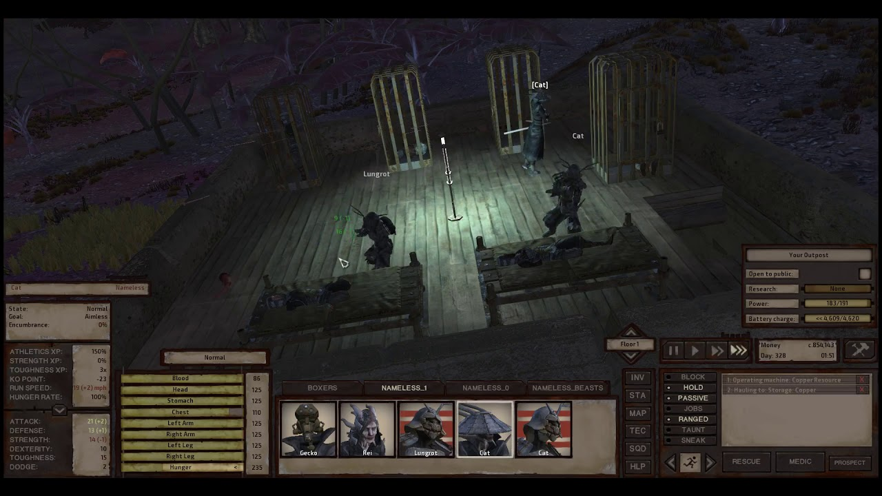 Kenshi: Martial Arts Training Sweatshop