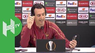 Unai Emery: Arsenal are in Napoli to win!