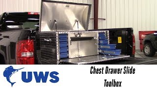 In the Garage™ with Performance Corner®: UWS Chest Drawer Slide Toolbox