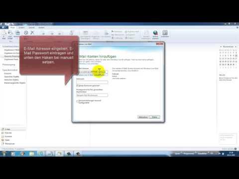 Imap secureimap.t-online.de Einrichtung bei Windows  Live Mail