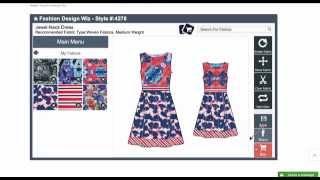 Online Fashion Design Software (A New Advanced Version Is at Tailornova.com)