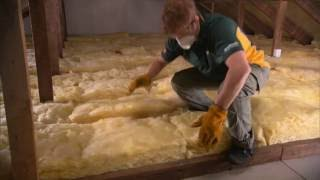 How to install Ceiling batts yourself DIY
