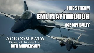 Ace Combat 6: Playthrough with EML (Ace Difficulty)