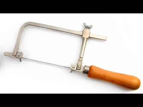 How to make a small jewelers saw cutting coping saw for cutting how to make a small jewelers saw cutting coping saw for cutting plasticswood and iron greentooth Gallery