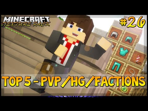 Minecraft: TOP 5 TexturePack PvP/HG/Factions - No Lag/FPS Boost - 1.7,1.8,1.9 E 1.10 ‹ Weark ›