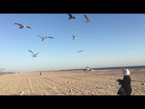 Mom on HB beach