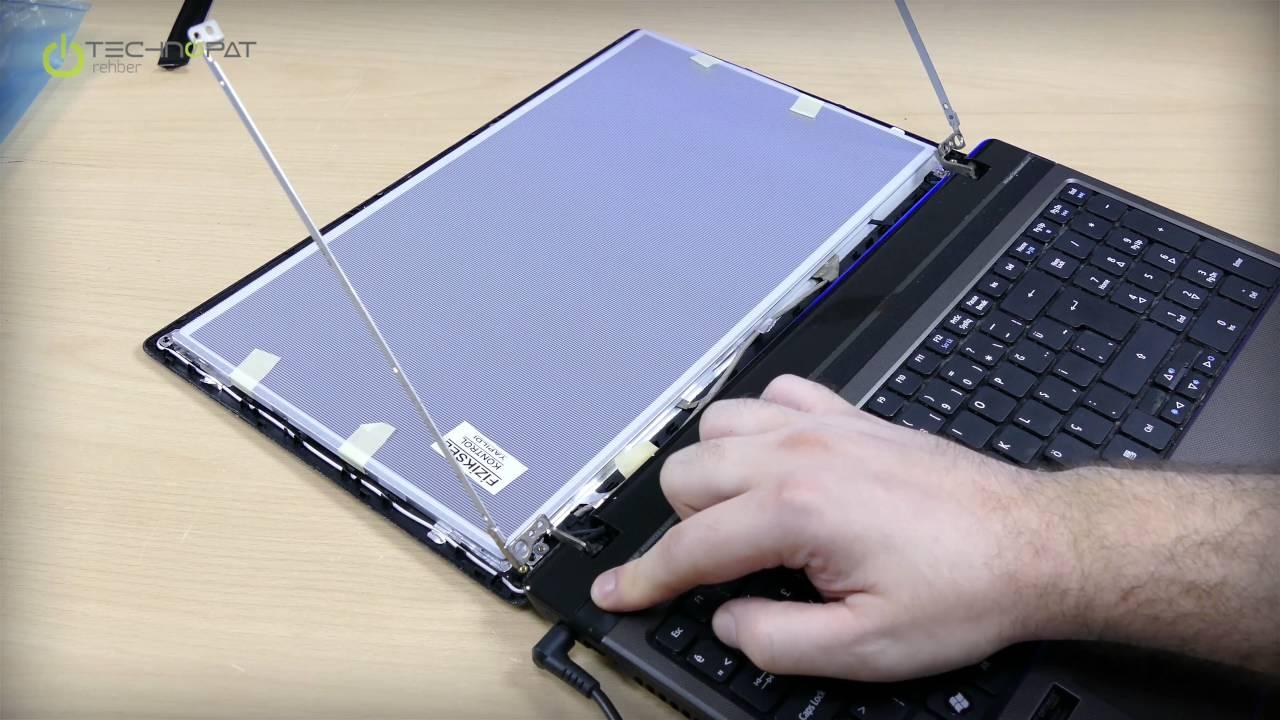 cbde821534779 Laptop Ekran Değişimi - YouTube