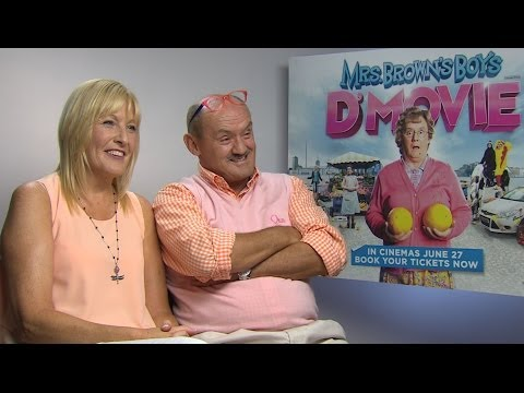 Mrs Browns Boys D'Movie  Brendan O'Carroll & Jennifer Gibney