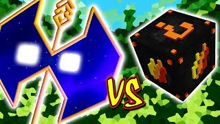 MACHADO PESADO AMALDIÇOADO VS. LUCKY BLOCK FOGO (MINECRAFT LUCKY BLOCK CHALLENGE HAUNTED)