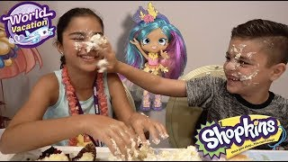 Cake Unboxing of Coralee (Shopkins Season 8) | Grace's Room