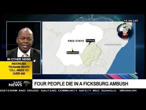 4 die in Ficksburg ambush